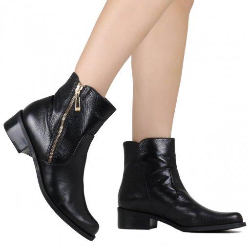b35842c75 Bota Luz Da Lua Ankle Boot Couro | Betisa