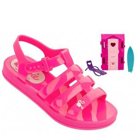 2a0159fe1a6 Sandália Infantil Grendene Barbie Casa de Praia 21832