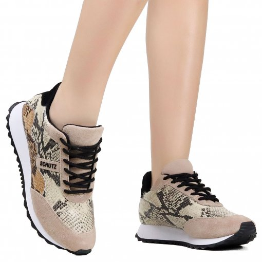6983916e49 Tênis Schutz Animal Print Jogging