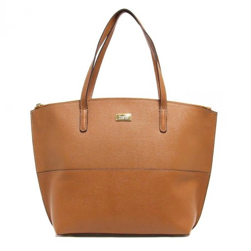 Bolsa Zariff Shoes Tote Shopping Bag Couro