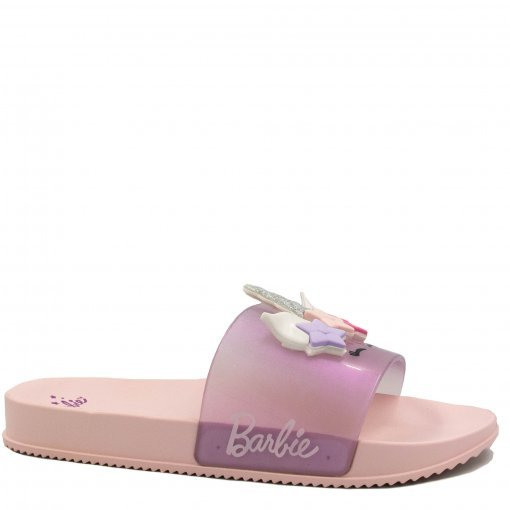 Chinelo Infantil Barbie Slide Glam