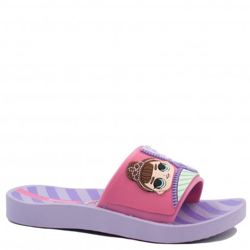 Chinelo Infantil Ipanema Slide LOL Surprise