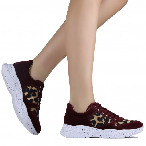 Tênis Zariff Shoes Chunky Animal Print