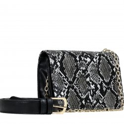 Imagem - Bolsa Zariff Shoes Casual Corrente Animal Print