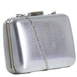 Imagem - Bolsa Zariff Shoes Clutch Metalizada