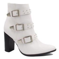 9c57834baa2fa Bota Via Marte Ankle Boot Fivela 18-6602