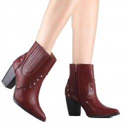 67b91f6fa Bota Via Marte Country Ankle Boot 19-6002