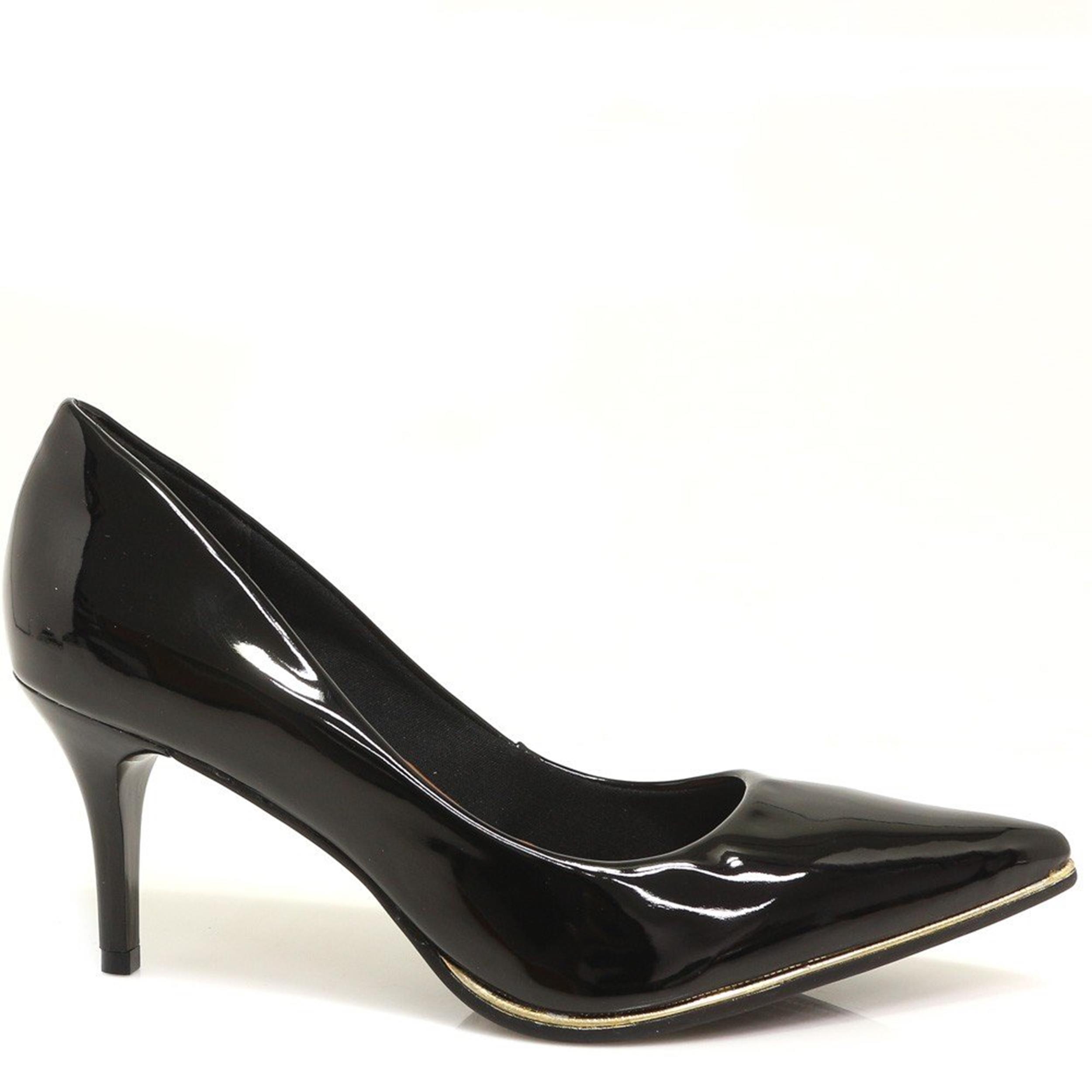 4c360da6be Sapato Bebecê Scarpin Verniz