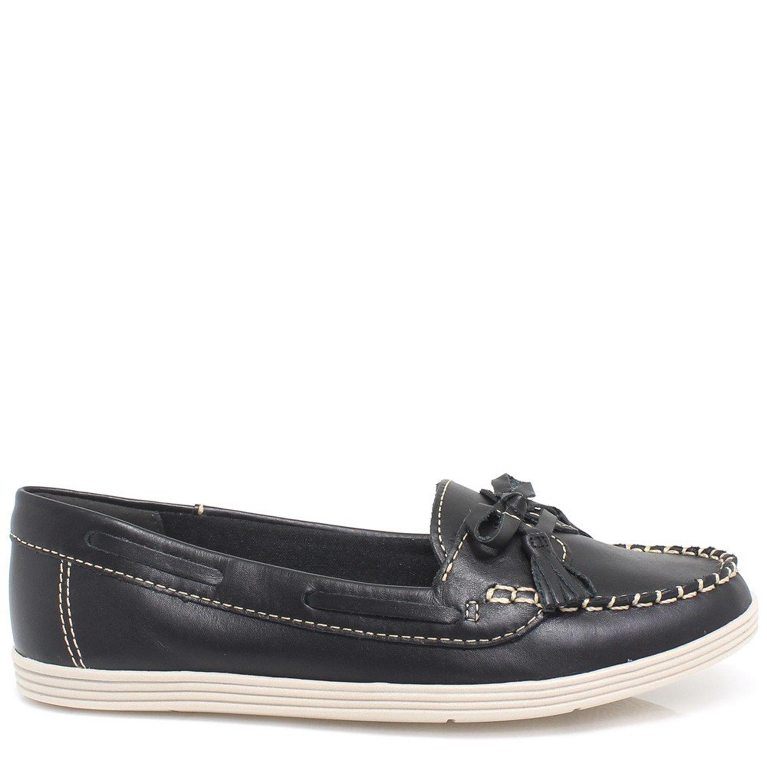 1ab29b1a9 Sapato Dakota Mocassim em Couro