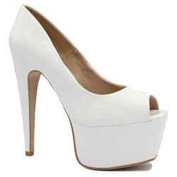 19416d15a6 Sapato Zariff Shoes Peep Toe Salto Alto 8913-042