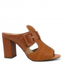 a374bae00d Tamanco Zariff Shoes Salto Grosso Recortes