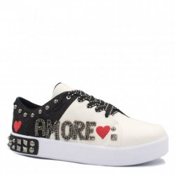 Tênis Zariff Shoes Flatform Bordado