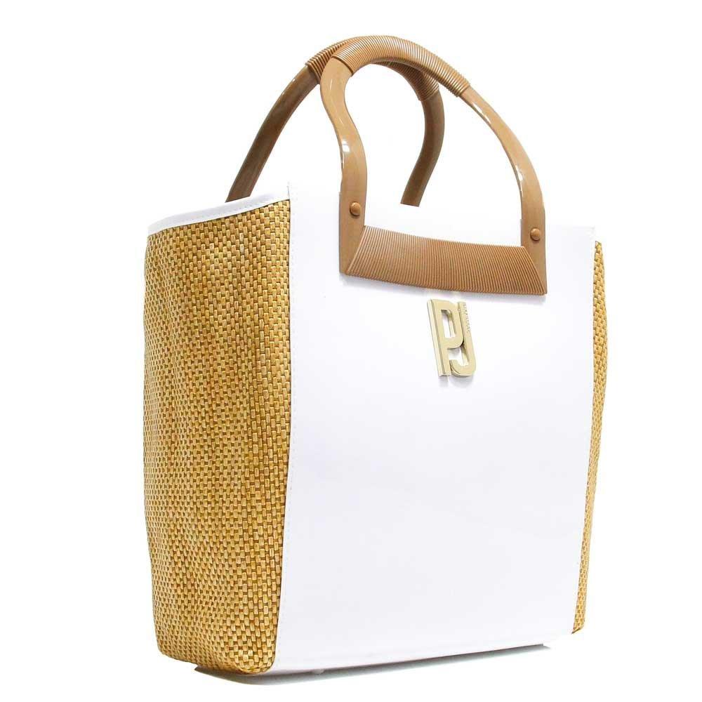 db07f8398 Bolsa Petite Jolie Shopping Bag Espadrille PJ2652