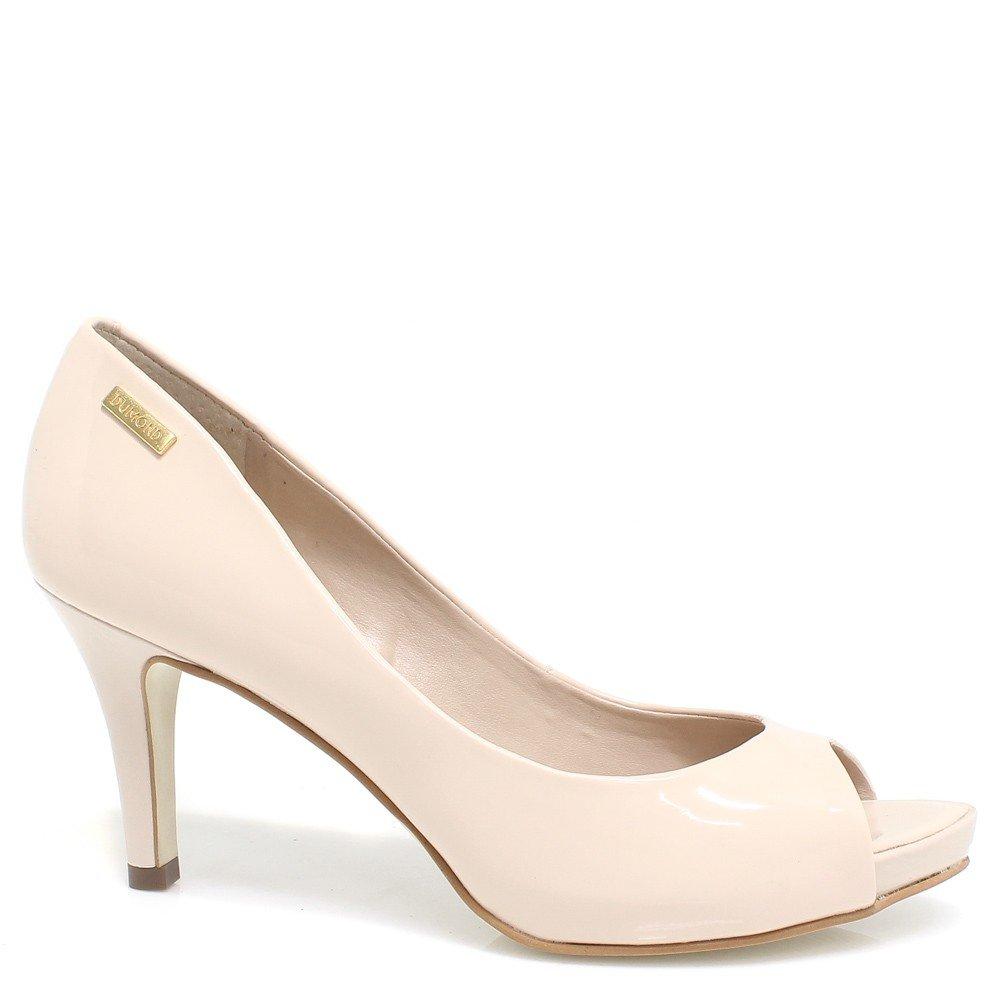 3bfc18945 Sapato Dumond Peep Toe Salto 4108536 | Betisa