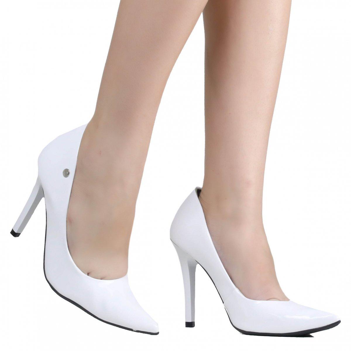 99f0a5c8e2 Sapato de Noivas Via Marte Scarpin 19-3102