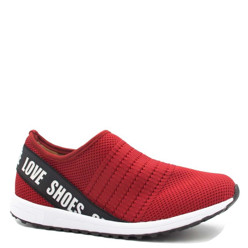 8086731562 Tênis Bebecê Casual Malha Summer Love Shoes 1314-351