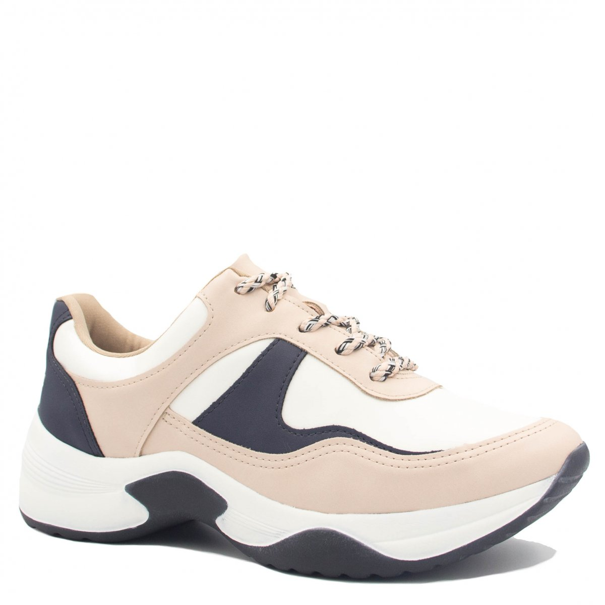 c6b2b7db9 Tênis Sneaker Dakota Chunky Recortes G0571   Betisa